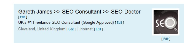 Optimsing LinkedIn Profile